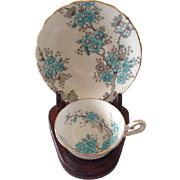 Hand Painted Tuscan Demitasse Set