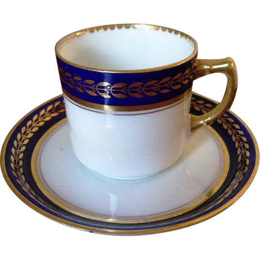 Cobalt Blue Demitasse by Adderleys Ltd