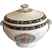 Wedgewood Runnymede Navy Blue Soup Tureen / Jardinière