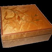 Art Nouveau Inlaid Box