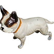 French Bulldog Vintage Metal figurine