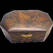 Fernware Box in great condition - Mauchline