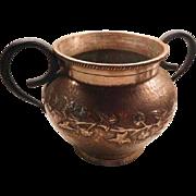 Arts & crafts - Noveau Copper Jardinere