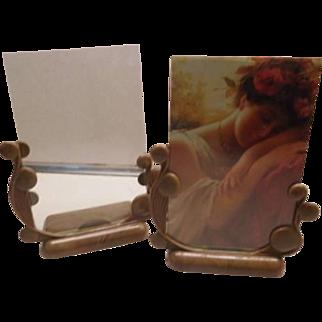 Bakelite Photo Frames - pair