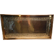 Keswick Brass Tray Arts & Crafts