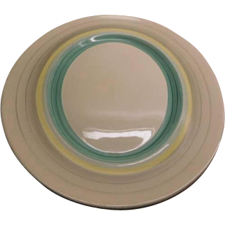 Susie Cooper Platter, large - Wedding Ring PATTERN