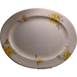 "Shelley China Pattern"" Primrose"" very large Platter"
