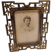 Art Nouveau Photo Frame - French