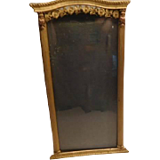 Art Nouveau Photo Frame - Brass - French