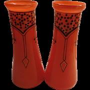 Art Nouveau Vase - a pair