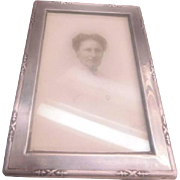Sterling Photo Frames - Pair English Hallmarks