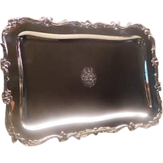 Sterling Tray Austro=Hungarian or French