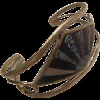 Sterling & Abalonr Bracelet