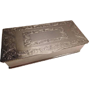 Mappin & Webb Silverplate Box