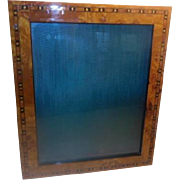 Photo Frames - pair with inlaid design