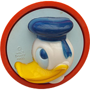 Donald Duck Vintage Working Night Light Walt Disney Productions Fun!