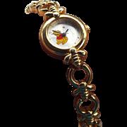 Vintage Disney Winnie the Pooh Watch Adjustable Bracelet Band New Battery!