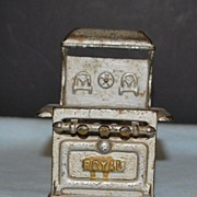 Antique Cast Iron Doll House Stove, c. 1900