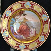 Fine Royal Vienna Hand Painted Cabinet Bowl