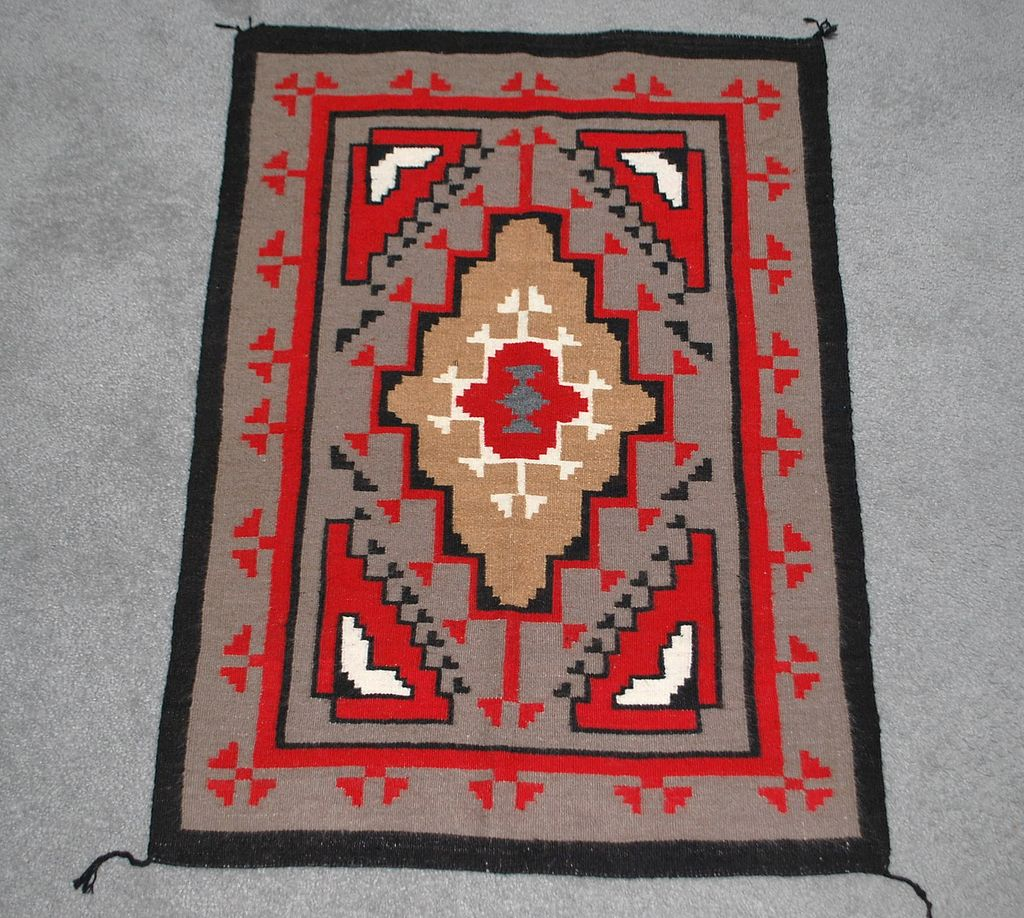 Fine Navajo Indian Geometric Wall Hanging