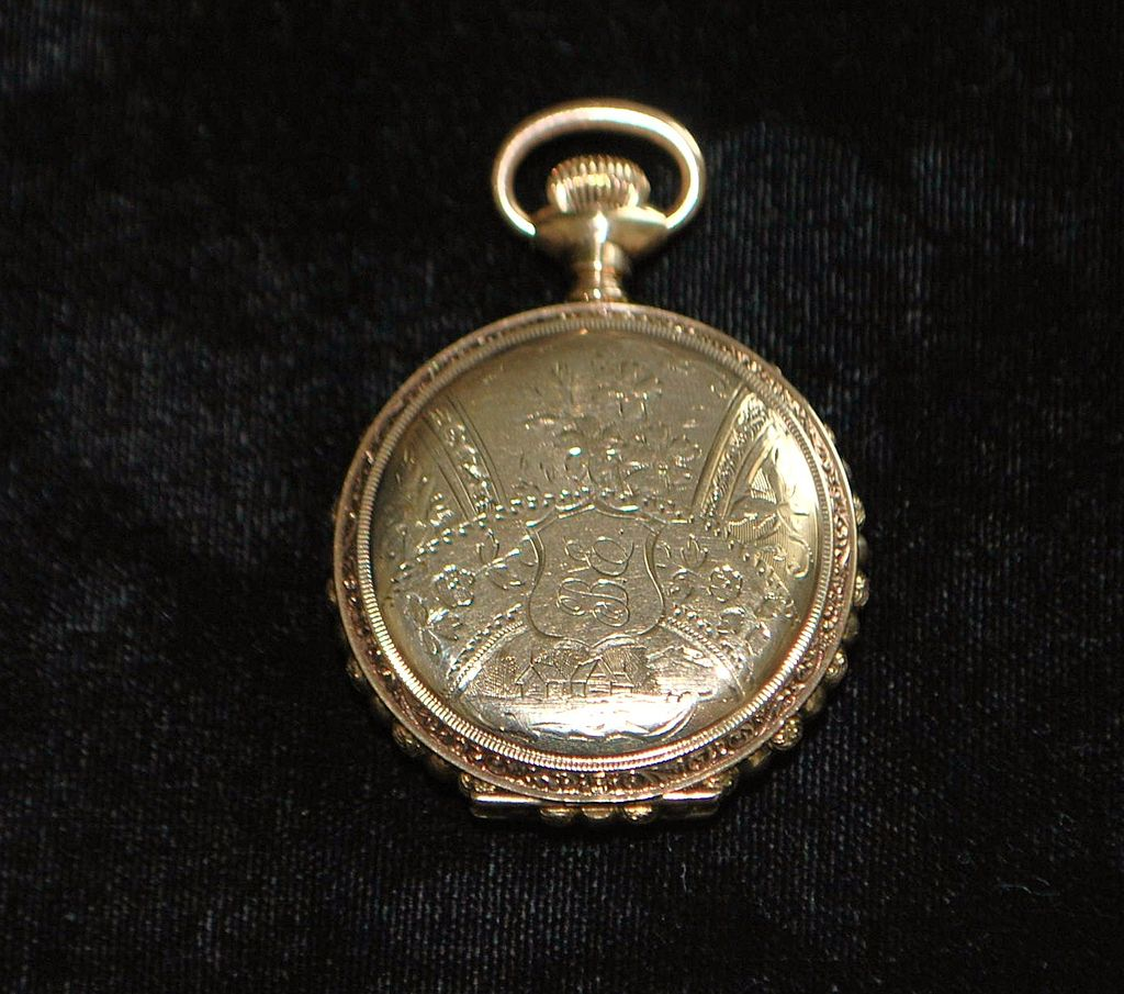 "Lady's "" Victorian Fancy Size ""O"" Elgin HC Watch, c. 1896"