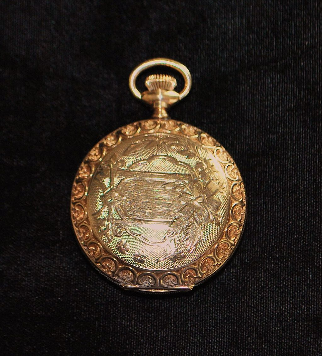 Fine Elgin Hunting Case Pocket Watch, c. 1894