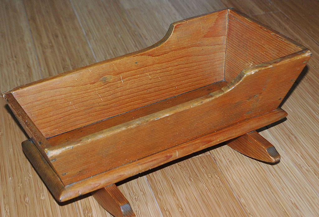 Doll Cradle  Circa 1860's