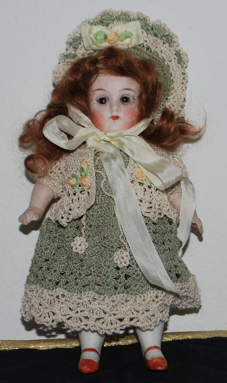 All Bisque German Doll From Antiqueworldusa On Ruby Lane