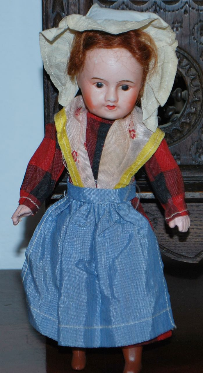 "8""  All Original French Doll"