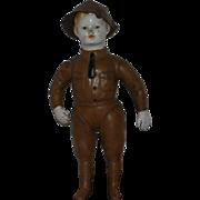 WWI Doughboy Soldier DOLL  W/HAT