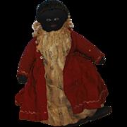 Black Americana Folk Art Cloth Doll