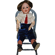 Gebruder Heubach  Boy Doll, Laughing Character Face