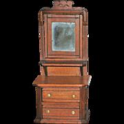 Victorian Doll Dresser - circa 1870's