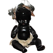 Black All Bisque Doll