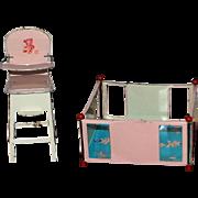 J. Chein & Co Playpen & Hi Chair