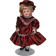 All Bisque German Doll - Mold # 602