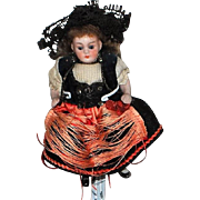 All Bisque French Doll