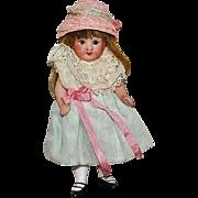 All Bisque German Mignonette Pocket Doll