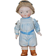 German All Bisque Doll Hertwig & Co