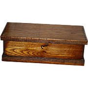 Wooden Tool Box with Original Label
