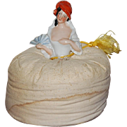 German Half Doll Pincushion