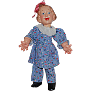 "Ideal 12"" 1938 Flexi Doll Fanny Brice as Baby Snooks"
