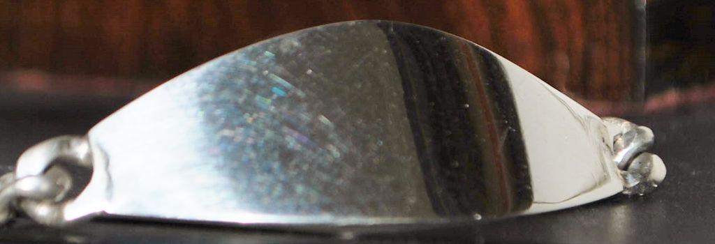 Vintage Sterling Silver I.D. Bracelet - 1970's