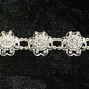 Peruzzi Italian 800 Silver Bracelet