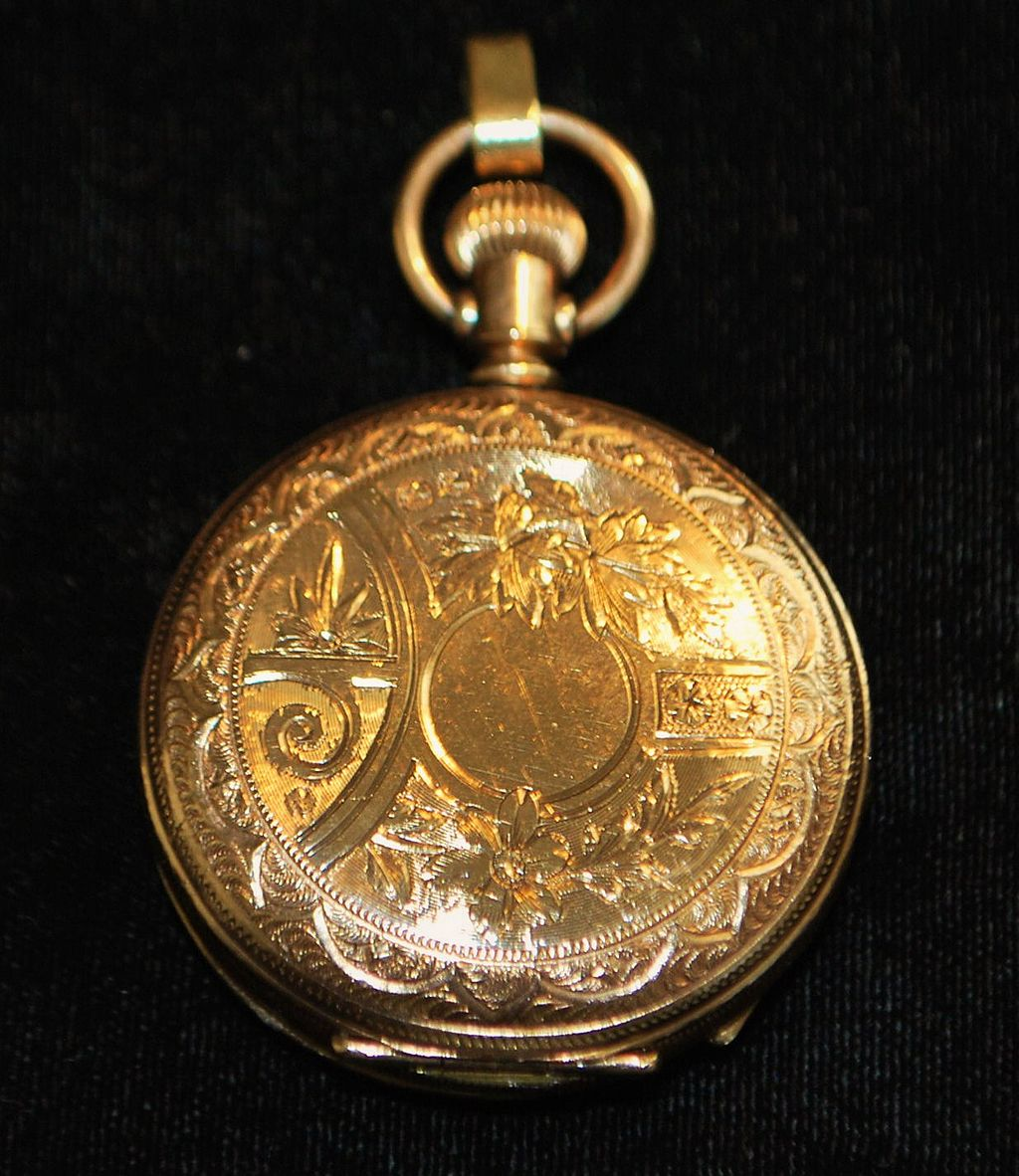 Fancy Illinois HC Pocket Watch,1886