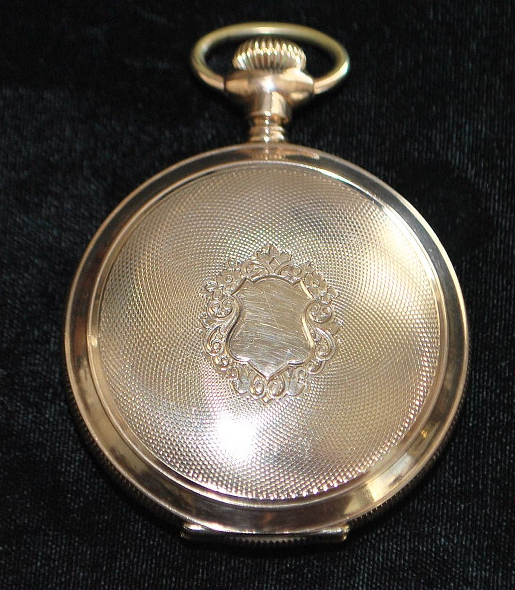 Fancy Railroad HC Pocket Watch 1885-1910
