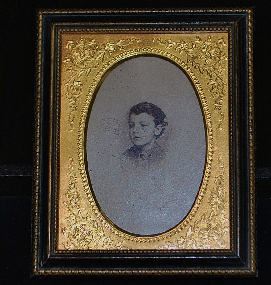 Victorian Gild and Wood Picture Frame,c.1890