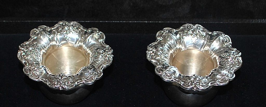 Pair of Francis I Sterling Silver Bowls - 1960's