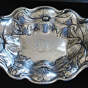 Gorham Art Nouveau Sterling Bowl, c. 1902