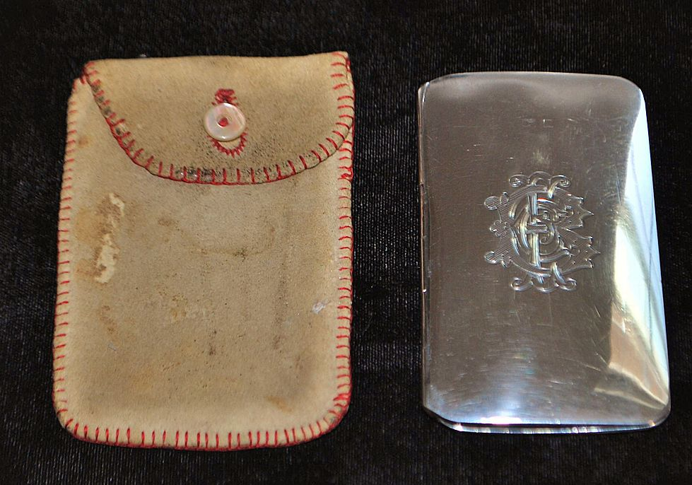 English Edwardian Sterling Silver Coin Purse,c. 1906